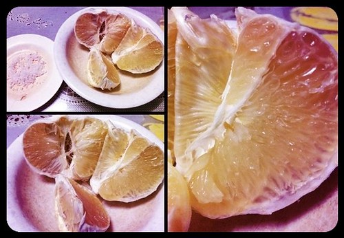 Pomelo Time --- after mag dinner ;)
