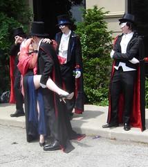 Black Lady Claims a Tux #3 (Lanisatu) Tags: toronto cosplay tuxedomask blacklady wickedlady animenorth2012