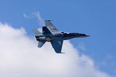 CF-18 Hornet in Yellowknife (Jason Pineau) Tags: jason true fighter photographer force nt air north jet royal nwt canadian airshow hornet northwestterritories douglas pineau yellowknife rcaf cf18 mcdonnell 781 188781 cyzf