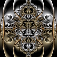 Alternating Current (Ross Hilbert) Tags: art metal bronze silver gold chaos julia steel digitalart computerart copper fractal brass pewter mandelbrot generativeart juliaset mathart fractalart algorithmicart mandelbrotset newtonfractal orbittrap fractalsciencekit