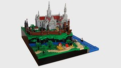 Seaside Castle 2.0 (Toltomeja) Tags: castle seaside lego mini courtyard micro microscale miniscale