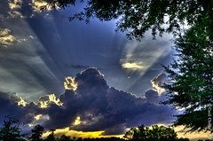 After the storm (Explored - 7/21) (cclontz) Tags: light sunset sky sun storm clouds evening interestingness cloudy dramatic rays heavens clould explored