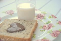 Summer (Lucia Cortés Tarragó) Tags: pink love glass vintage milk nikon sweet chocolate pastel