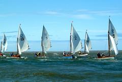 Opera fleet running (John of Wirral) Tags: coast boat opera sailing sail regatta hsc 2012 wirral irishsea meols liverpoolbay hoylakesailingclub