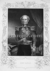 0070752 (Granger Historical Picture Archive) Tags: portrait england men english james uniform arm 1st fitzroy 19thcentury somerset lord engraving raglan marshal henri baron amputee nobleman epaulette