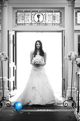 C2_0127 (DB-Photography) Tags: sanfrancisco wedding church window photography bride marriage stainedglass bow paloalto bouquet weddingphotography stthomasaquinaschurch bestofweddings bridalphotography