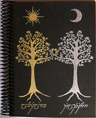 Agenda dos árboles (Lady Krizia) Tags: sol luna lordoftherings tolkien telperion silmarillion laurelin wilwarin