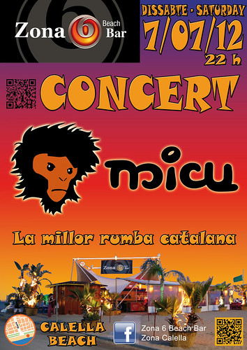 Micu - Zona 6 Beach Bar - 7-07-12