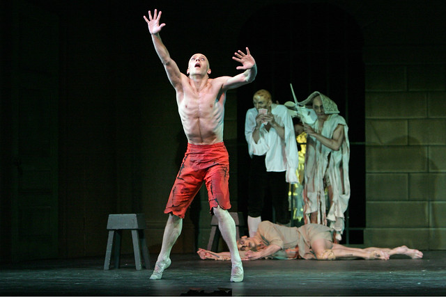 "Johan Kobborg as the Rake in Ninette de Valois' The Rake's Progress. The Royal Ballet 2006. <a href=""http://www.roh.org.uk"" rel=""nofollow"">www.roh.org.uk</a>"