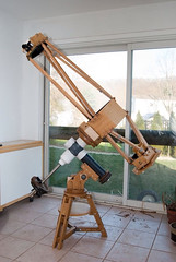 Hatbox Telescope and Mount-17 (charles.wilson) Tags: its is with tripod here mount telescope base hatboxtelescopeandmount