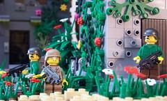 Morning Patrol (Silenced_pp7) Tags: morning brick modern lego military helmet scene jungle combat patrol gi moc mch mercenary xmp brickarms gibrick