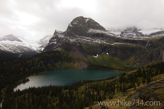 "Grinnell Lake with Angel Wing • <a style=""font-size:0.8em;"" href=""http://www.flickr.com/photos/63501323@N07/7712405936/"" target=""_blank"">View on Flickr</a>"