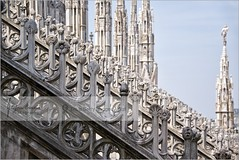 It`s all about culomns and lines | Duomo di Milano, Italy (Stefan Cioata) Tags: street travel roof vacation italy holiday detail beautiful rock horizontal stone architecture outdoors photography photo site scenery europe italia day cathedral image sale patterns exploring details great stock nopeople scene medieval best spire explore getty destination christianity duomo top10 ornate majestic sculptures available pinnacle verticality outstanding duomodimilano colorimage touristical flickrandroidapp:filter=none