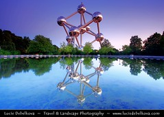 Belgium - Brussels - Atomium - Expo '58 Monument at Dusk - Blue Hour - Twilight ( Lucie Debelkova / www.luciedebelkova.com) Tags: world trip travel brussels vacation holiday tourism monument beautiful wonderful nice fantastic twilight perfect tour place belgium dusk awesome sightseeing visit location tourist best journey stunning destination bluehour sight traveling lovely visiting exploration incredible atomium touring breathtaking expo58 100commentgroup luciedebelkova wwwluciedebelkovacom luciedebelkovaphotography