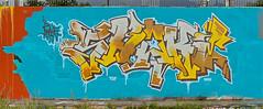 Graffiti Den Haag - HOF Laak (Akbar Sim) Tags: streetart holland netherlands graffiti nederland denhaag shake thehague waldorpstraat akbarsimonse hoflaak akbarsim
