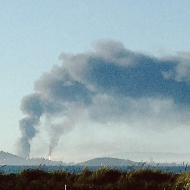 Chevron explosion