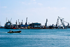 Canal Suez (port said) (Mohamed Abd El Nasser) Tags: port boat canal said suez
