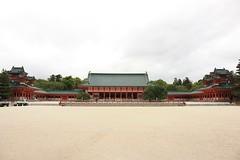 Heian Shrine - Kyoto (Alejandro Muiz Delgado) Tags: japan temple kyoto religion shinto shintoism sintoismo japon shinto