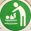 Wave arm over baby. (chrisinplymouth) Tags: squircle circle round hygeine word oneword sign nappychanging green cw69x magrini squaredcircle circular