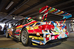 DSC_0271 (RajSohal) Tags: show red black london art church andy car 30 race matt painting gallery market interior space painted central racing collection chrome showroom bmw warhol invader bullet olympics m3 csl matte invaders racer 2012 dealer leadenhall e92