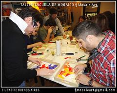 Iniciación al mosaico veneciano y trencadis (fernanda jaton) Tags: buenosaires mirrors mosaico escuela fj courses azulejos classes mosaictile contemporáneo clases trencadis mosaicoveneciano venecitas fernandajaton