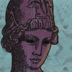 (Marina Molares) Tags: collage philosophy vintagecollage lacajadeldiablo marinamolares