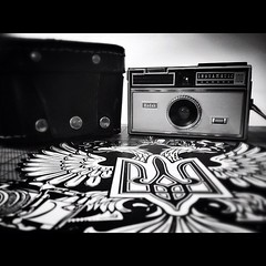 New addition to my #collection: #Kodak #Instamatic 100 (Krapivin) Tags: square squareformat iphoneography instagramapp uploaded:by=instagram