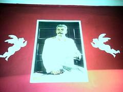 Red Star hostel posters (Jan Spanelsky) Tags: lenin propaganda stalin dostoyevsky redstar propagandaposters leninlibrary alexandergardens redstarhostel vladimiriljichlenin thegreatlittleman