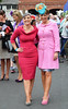 Sinead Desmond and Sybil Mulcahy Blossom Hill Dublin Horse Show - Ladies Day Dublin, Ireland