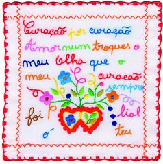 Handmade Valentine's Handkerchief – Vila Verde
