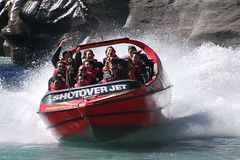 Queenstown - Shotover Jetboats (OurPhotoWork) Tags: travel newzealand holiday holidays adventure nz southisland queenstown powerboat waterfun touristattraction highspeed jetboat shotover nikonflickraward nz2011 ourphotowork