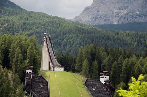 Olympic ski-jump