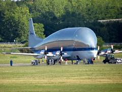 N941NA (redlegsfan21) Tags: force space air super nasa national administration base guppy turbine aero aeronautics wrightpatterson ffo spacelines n941na kffo b377sgt