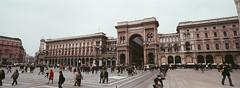 Milan, Italy (ChihPing) Tags: travel italy panorama milan film iso800 fuji milano panoramic hasselblad fujifilm press xpan expiredfilm   fujicolor 30mm