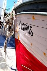 boat (Nefelly) Tags: old summer island boat rust greece paros yannis parikia nikon5100 nefelly