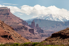 Fisher Towers (jk walser) Tags: nature utah moab fishertowers