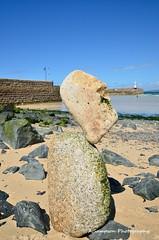 St Ives rockman (sampsonalexander651) Tags: stives rockbalancing