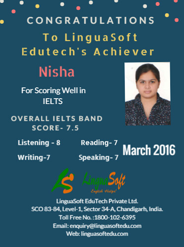 Nisha - IELTS Band Score 7.5