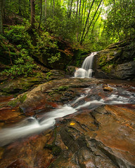 Dodd Creek Falls (Travis Rhoads) Tags: 2016 bwmrccircularpolarizer canonef1740f4l copyright2016 doddcreekfalls flowingwater georgia landscapephotography lee3stopnd leefoundationkit longexposure metaboneseftoeivt nikcollectionbygoogle ravencliffswilderness rivers sonyilce7rm2a7rii travisrhoadsphotography trees waterfall