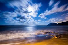 IMG_8888 Calblanque (digsoto - Diego Soto) Tags: longexposure largaexposicion luna calblanque clik moon sea spain mediterráneo