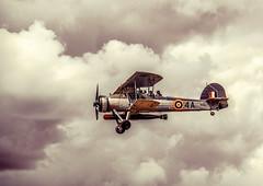 Swordfish (10000 wishes) Tags: aircraft biplane retro vintage filter clouds old farnborough display airshow torpedo