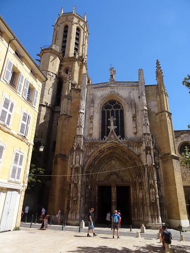 20160815 038 Aix-en-Provence - Rue Gaston de Saporta - Paroisse Saint Sauveur