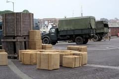 IMG_7106 - Dunkirk Film Set - Weymouth - 28.07.16 (Colin D Lee) Tags: christophernolan movie dunkirk worldwar2 film set weymouth quay crew warnerbros truck army boxes