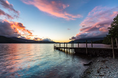 Ashness Jetty (Matt Parry Photo) Tags: lakes lakedistrict derwentwater ashnessjetty sunset dusk clouds longexposure canon5dmk3 canon1635f4l mattparry summer tranquility appicoftheweek