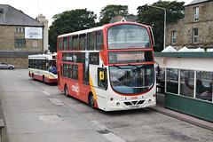 Rossendale Transport - Fleet No. 117 (Rossday) Tags: lf52usm rossday rossendale rossendaletransport rosso rawtenstall volvob7tl volvo wrighteclipsegemini