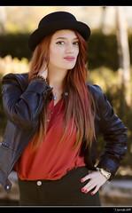 Irene Ballesteros - 2/5 (Pogdorica) Tags: modelo sesion retrato posado arganzuela pelirroja sombrero chica sexy