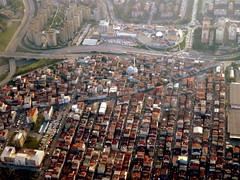 Istanbul neighborhood (oobwoodman) Tags: turkey türkei turquie türkiye istanbul istmct aerial aerien luftaufnahme luftphoto luftbild moschee mosquée mosque camii halkalıarenapark küçükçekmeceikitellimerkez