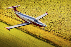 Pilatus PC-12 NG (Next Generation) (aeroman3) Tags: aerial cabin lava pilatuspc12ng pressurized turbine turboprop