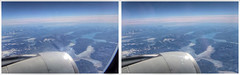 Watching Greenland Melt in 3D (Non Paratus) Tags: greenland jet aircraft flying glaciers engine 3d stereophotography stereoscopic