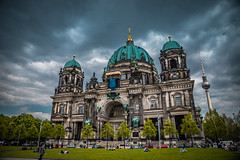 Berliner Dom (Stratos28) Tags: berliner dom berlin germany nikon d750 historic clouds church architecture travelphotography